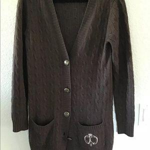 Juicy couture vintage cashmere cartigan
